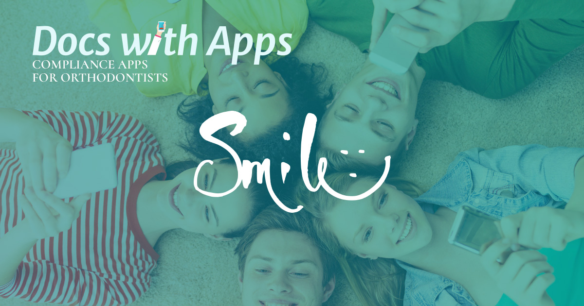 Compliance Apps for Orthodontists picture of kids using mobile apps