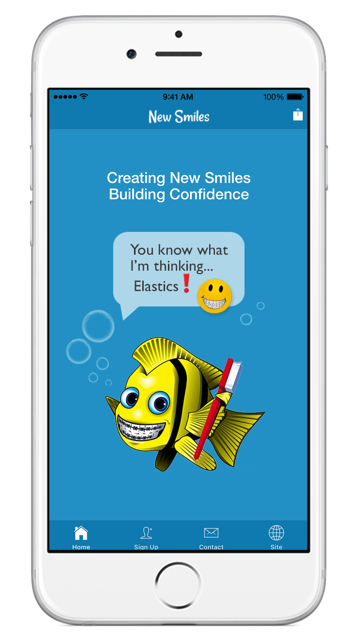 Orthodontist Dr Deborah New Compliance App