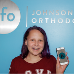 image of patient at JFO with JFO braces app