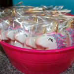 photo of Johnson Family Orthodontics unicorn cookies