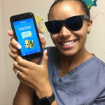 image of New Smiles Orthodontics staff with New Smiles App
