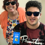 Image of patient with New Smiles app