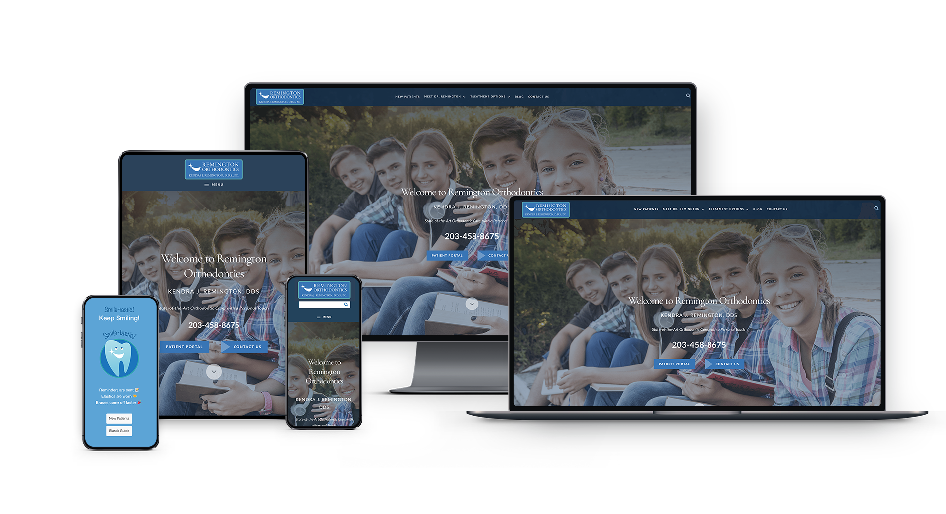 Example case study of Docs With Apps - website Development for Orthodontists
