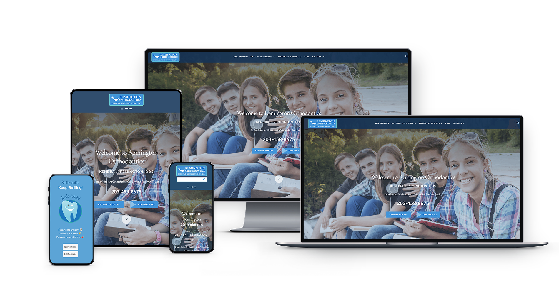 Orthodontics Practice Website