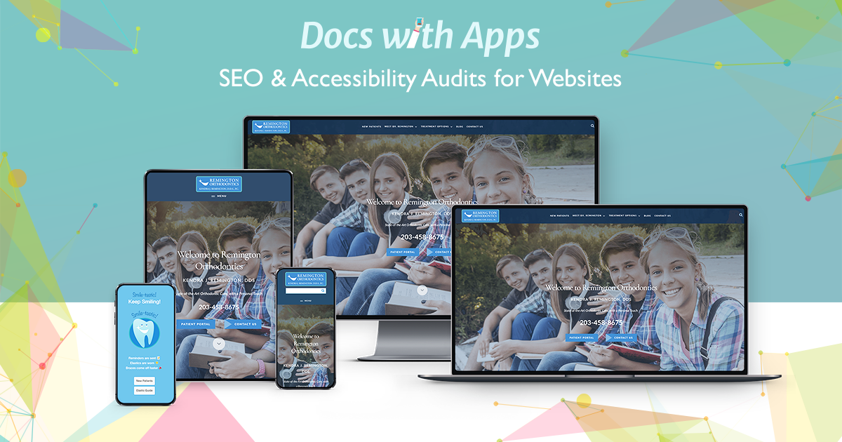 example website: SEO & Accessibility Audits for Websites by Docs With Apps